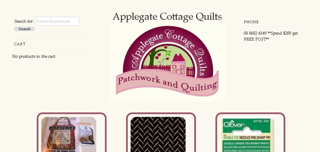 Gill, Applegate Cottage Quilts
