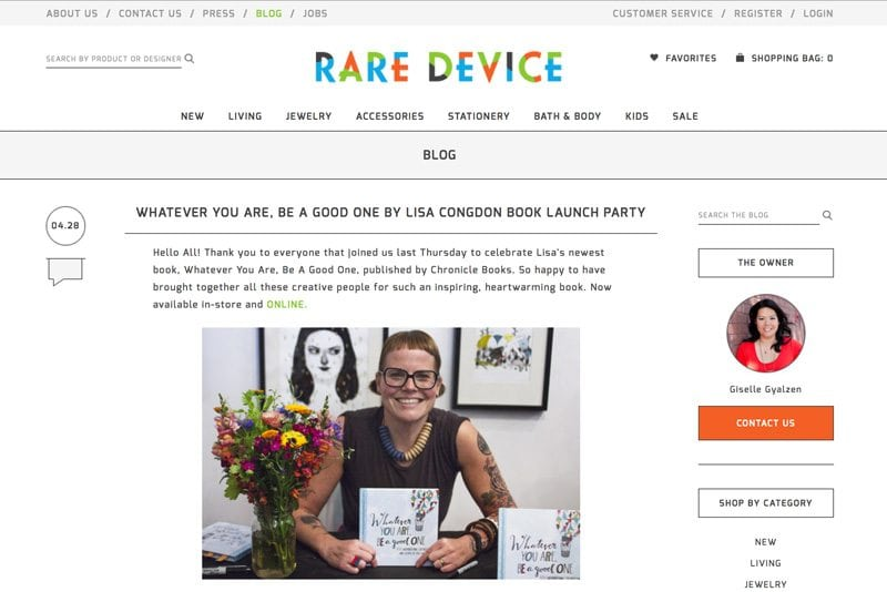 Feature Blogs