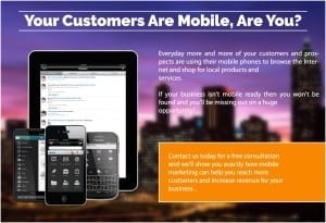 Mobile Web Site Your Customers Are Mobile - Are You?