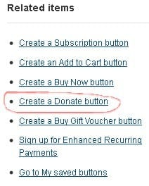 How to create a PayPal Donate Button